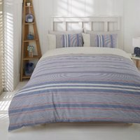 Marlow Stripe Duvet Cover and Pillowcase Set - Single
