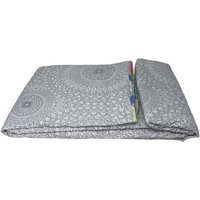 Beautiful Printed Quilted Bedspread Throw - D336
