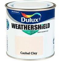 Dulux Weathershield Smooth Exterior Masonry Paint 250ml - Ca