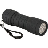 Summit Rubber Finish Torch - Black