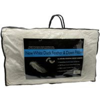 2 Pack Duck Feather and Down Pillows  - Off White
