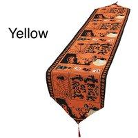 Halloween Table Runner - Yellow