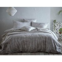 Portfolio Home Hot House Duvet Cover and Pillowcase Set - Grey / Double