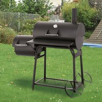 Biloxi Offset BBQ Pit Barrel Smoker