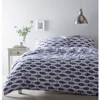 Cove Duvet and Pillowcase Set - Ocean Blue / Single