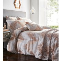 Quartz Duvet Cover and Pillowcase Set - Rose Gold / Double