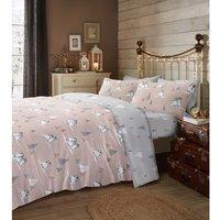 Fluffy Penguin Duvet Cover and Pillowcase Set - Super King