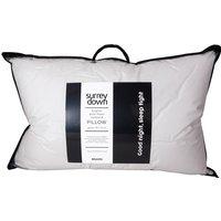 English Duck Down Pillow - White / 75cm