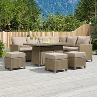 Right Firepit Corner Set-Willow