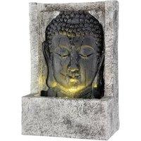 Upright Buddha Water Feature - Grey