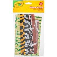 'Crayola Assorted Safari Tissue Paper Pack