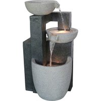 3 Bowl Stone Effect Water Feature