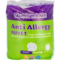 Slumberdown Anti Allergy Duvet - King size