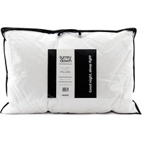 Duck Feather and Down Pillow Collection - White / 75cm / Soft/Medium / 50cm / Non Returnable if used.