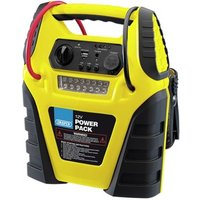 Draper 12 Volt Power Pack/Booster fitted with compressor