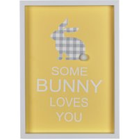 Some Bunny Loves You Plaque