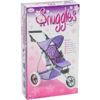 'Snuggles Deluxe Dolls 3 Wheeler Pram - Purple