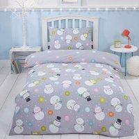 Snowmen Single Bed Duvet and Pillow Case Set