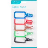 5pc Luggage Tag Set