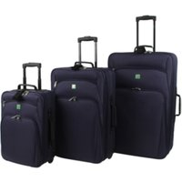 'Swift Amsterdam Eva Trolley Suitcase - Blue / Large