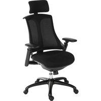 Rapport Mesh Executive Chair - Black