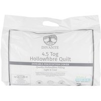 4.5 Tog Duvet - White / Double