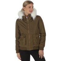 Regatta Womens Berdine Jacket - Camo Green / 14