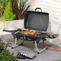 BBQ Chef Bunbury Easy Fold Gas Grill - Black