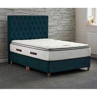 Jonas and James Chatsworth Divan Bed Set With Mattress - Ocean / 4 / Single