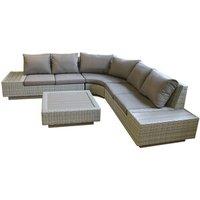 Culcita Corner Rattan Lounge Set