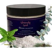 Peppermint, Eucalyptus and Pine Dead Sea Salt Natural Aromatherapy Body Scrub