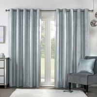 Samira Eyelet Curtains - 183cm