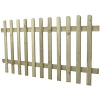 Pressure Treated Ultima Pale Picket Fence  - 3