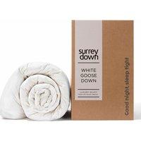 Goose Down Duvet - White / Super King size / 4.5