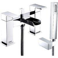Deva Sparkle Deck Mounted Bath Shower Mixer Tap