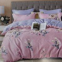 4PC Egyptian Cotton Complete Duvet Set Double  - CS3