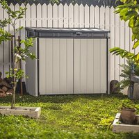 Keter Store It Out Midi Plastic Garden Storage Shed - 123.5cm