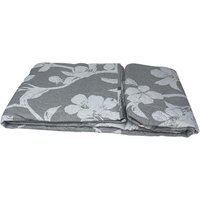 Beautiful Printed Quilted Bedspread Throw - D312