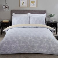Tamsin Duvet Cover and Pillowcase Set - Ochre / Single