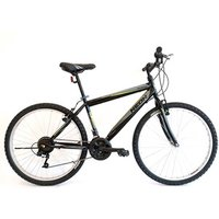 Mens Rigid Frame Mountain Bike With 21 Speeds - 26 inch