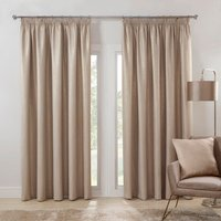 Salisbury Metallic Curtains - Champagne / 183cm / 168cm