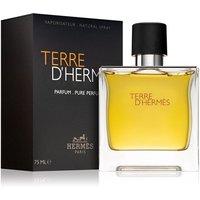 Hermes Terre DHermes Pure Perfume Mens Aftershave Spray 75ml - Orange
