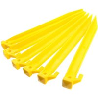 Summit 6 Power Tent Pegs - Yellow
