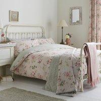 Lorena Floral Blush Duvet Cover and Pillowcase Set - Double