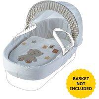 ABC Teddy Moses Basket Bedding Set