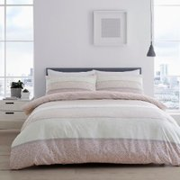 Isana Duvet Cover and Pillowcase Set - Blush / Double