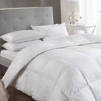 5* Luxury White 13.5 tog Goose Down Duvet - White / King size