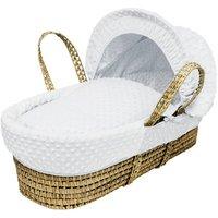 White Dimple Palm Basket