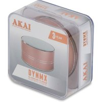 'Akai Dynmx Bluetooth Speaker - Blush Gold