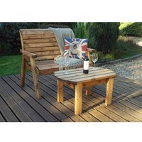 Charles Taylor Deluxe Bench Set - Redwood